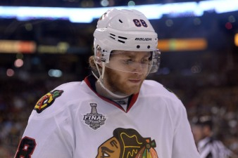 Hawks Drop Game 3; Bruins Lead Series 2-1