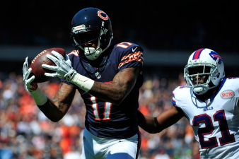 Jeffery Injures Hamstring in Bears' Loss to Bills