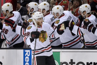 Kane Nets Five Goals in Buffalo Hockey Game