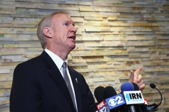 Rauner Blasts Madigan for Lawmaker Pay Hike