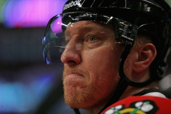 Marian Hossa Likely Won't Play Monday vs. Kings