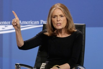 Ground Stops Prevent Gloria Steinem From Stumping for Quinn