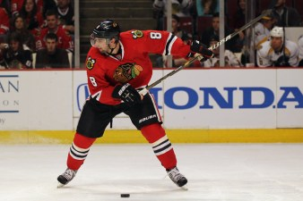 Three Stars: Leddy's Two Goals Help Hawks Win