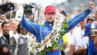 Alexander Rossi Wins 100th Running of Indy 500