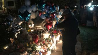 Grief Reigns at Vigil Outside Andrew 'AJ' Freund's Home