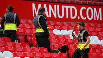 Fake Bomb at ManU Game Left From Training Exercise: Police