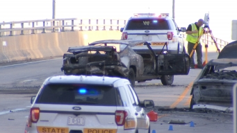 1 Killed in Fiery Crash on Bridge in Morris