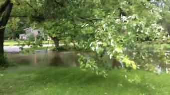 'River in Our Front Yard': Video of Flooding in Vernon Hills