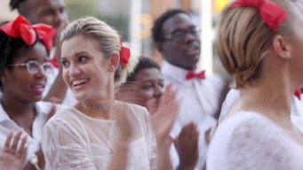 Filling Ashley Roberts' Soul With Song at Vy Higginsen's Gospel for Teens Choir