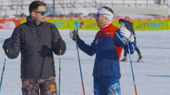 Jonathan Bennett Hits the Slopes and the Buffet with Team USA