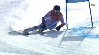 Ted Ligety Faces Large Deficit After First Giant Slalom Run