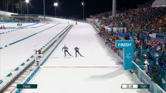 Fourcade Vs. Schempp: The Best From the Photo Finish