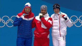 Medal Ceremony: Marcel Hirscher Picks Up Another Gold