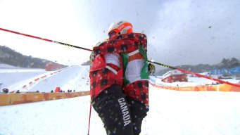 Canadians Get Gold, Silver in Exciting Ski Cross Big Final