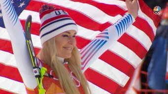 Vonn Leaves PyeongChang After 'Giving It All She Had'