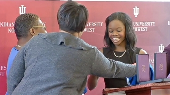 Gabby Douglas Honored in Gary