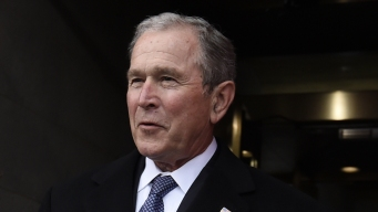 Bush Favors 'Welcoming' Immigration Policy, Defends Media