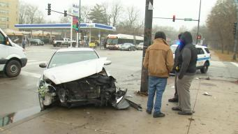 4-Year-Old Injured in Chain Reaction Crash