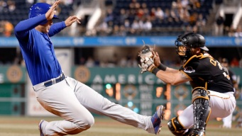 Bryant's 3 RBIs Lead Cubs Over Pirates