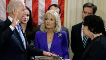 Biden Sworn in for 2nd Term as VP