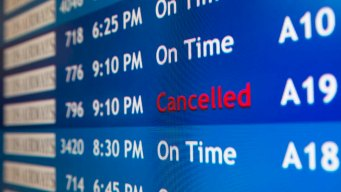 Chicago Airports Cancel Flights Due to Weather