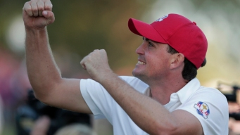 U.S. Takes 5-3 Lead in Ryder Cup