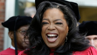 Oprah Delivers Harvard Commencement