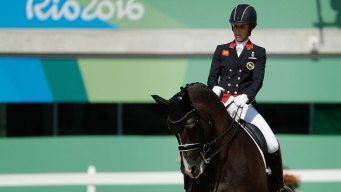 UK's Charlotte Dujardin Wins Dressage Gold