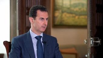 Assad: Blame 'Terrorists' For Convoy Attack