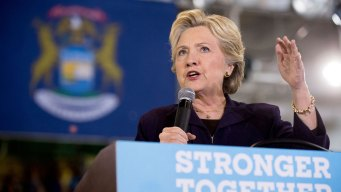 Looking Past Trump, Clinton Aims To Help Other Dems