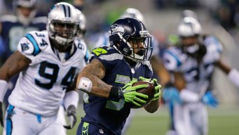SNF: Rawls Leads Seahawks to 40-7 Pummeling of Panthers