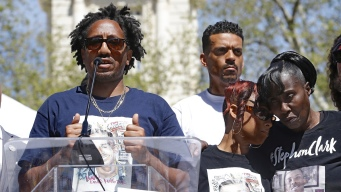 Rally Seeks Justice for Black Man Shot by Police in Backyard