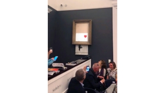 Sale on for Banksy Painting That Self-Destructed at Auction