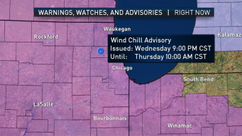 Wind Chill Advisory Issued for Chicago Area