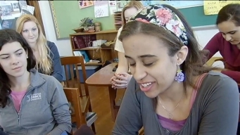 St. Scholastica Academy Seniors React to New Pope