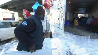 CTA Bus Driver Feeds Homeless on 40th Birthday