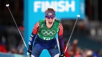 Jessie Diggins to Carry USA Flag at Closing Ceremony