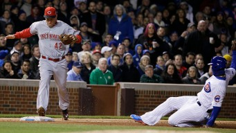 Wood, Rizzo Power Cubs Past Reds