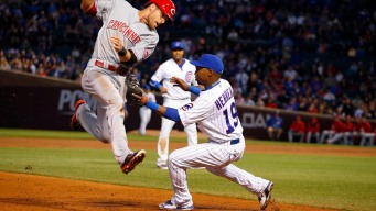 Cubs Rally to Beat Reds in 10