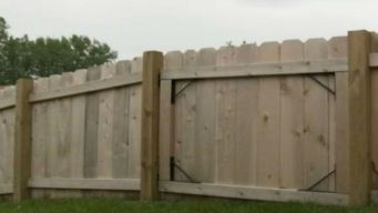 ComEd Fee Burdens Family Building a Fenced-In Yard