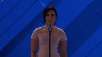 Demi Lovato Talks Mental Health at 2016 DNC