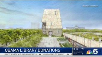 Donations Pour in for Obama Presidential Center