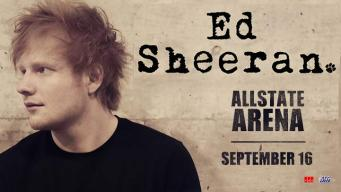 EXPIRED: Ed Sheeran at the Allstate Arena Sweepstakes