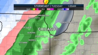 First Snowflakes to Fall in Chicago Area