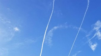 Navy Plane Draws Vulgar Symbol in Sky Over Washington State