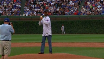WATCH: Alligator Catcher Throws 1st Pitch at Cubs Game