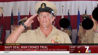 Jury Seated in Court-Martial of SEAL Charged with War Crimes