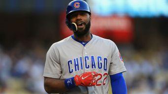 Heyward Leaves Cubs Game Due to Injury