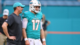 Tannehill Ruled Out for Bears Game