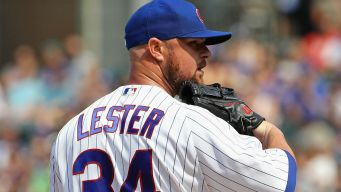 Jon Lester Named Cubs' Nominee for Roberto Clemente Award